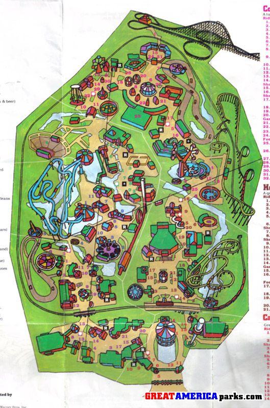 Gurnee Park Maps Greatamericaparks Com